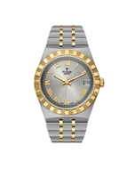 Tudor Royal Stainless Steel 34MM Silver Dial Watch